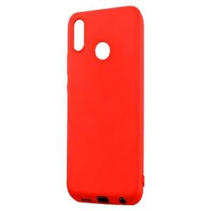 Funda Carcasa Case Huawei Silicona Flexible Ultra Fina Tpu Suave Compatible con Huawei  P30 Rojo