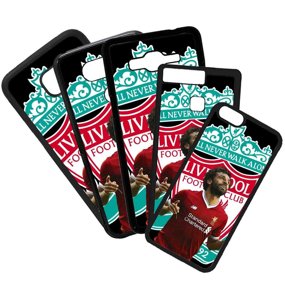 Funda de Movil Carcasa de Moviles Fundas Carcasas de TPU Compatible con el movil Huawei P8 Modelo Salah Liverpool Futbol