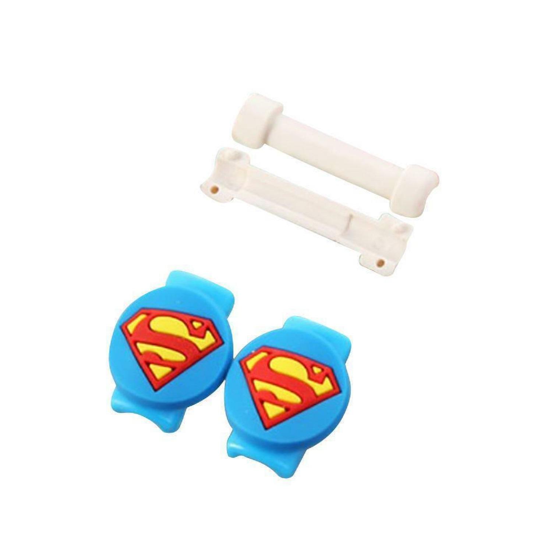 3x Protector Cable Del Cargador USB iPhone Universal Android Moda Superheroes