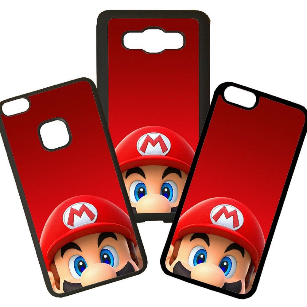 Funda de Movil Carcasa de Moviles Fundas Carcasas de TPU Compatible con el movil  Samsung Galaxy J5 2017 Modelo Mario Bross VideoJuegos Dibujo Moda