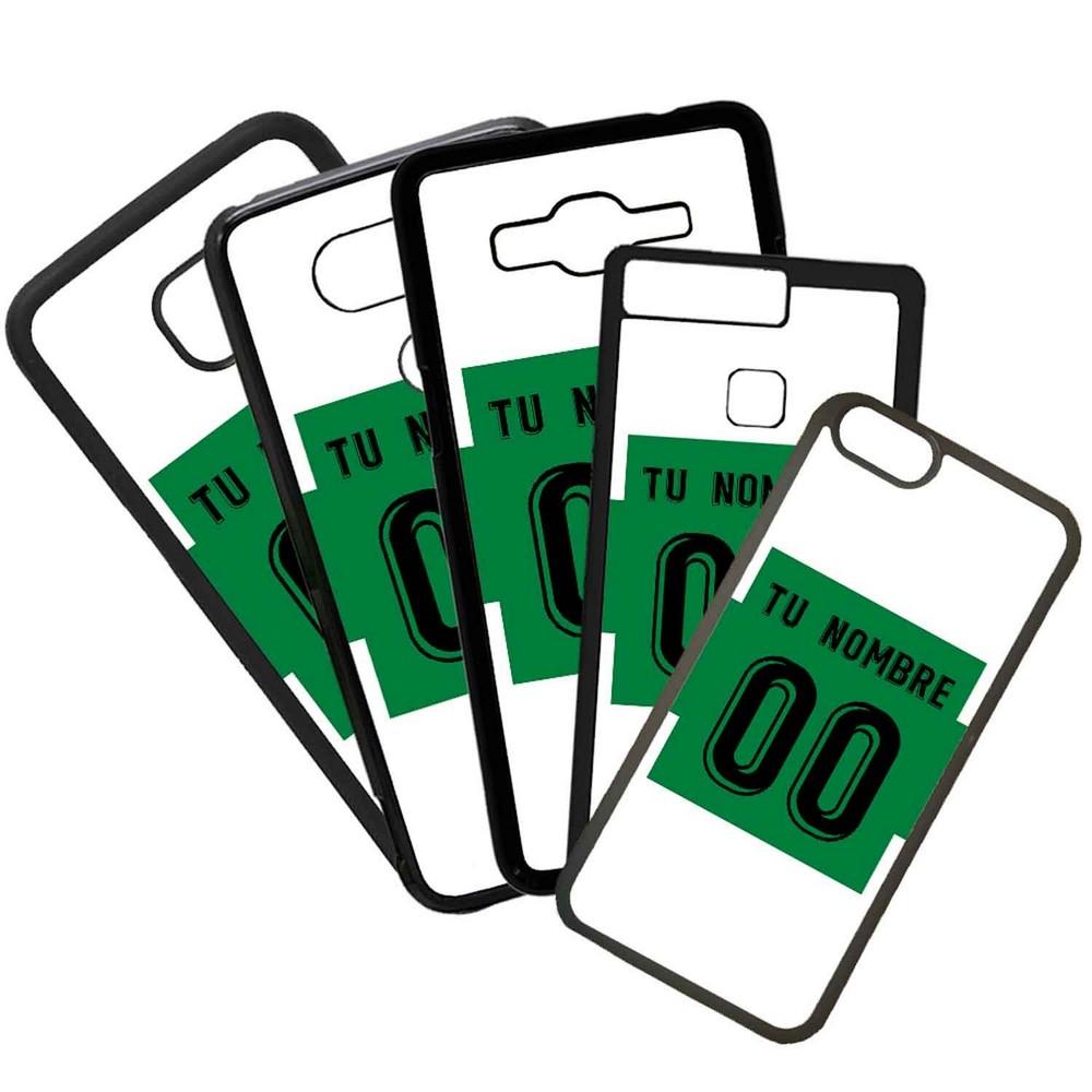 Funda de Movil Carcasa de Moviles Fundas Carcasas de TPU Compatible con el movil Huawei P20 Lite Modelo Camiseta de Futbol Elche Con El Nombre y Numero Que Quieras