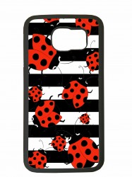 Fundas carcasas de movil compatible con samsung galaxy s6 edge modelo mariquitas