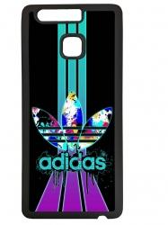 Funda carcasas móvil adidas lila compatible con el móvil Huawei P9 Lite
