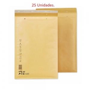 25 Sobres burbujas acolchados del nº 6 / 16 240x350+50 lote pack envios postal
