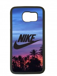 Carcasas de movil fundas tpu compatible con samsung galaxy s6 edge nike palmeras