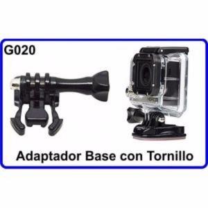 Adaptador Base+Tornillo Accesorios para Camara Deportiva Compatible GoPro Hero
