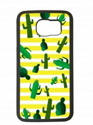 Funda carcasas móvil cactus compatible con el móvil Samsung Galaxy S6