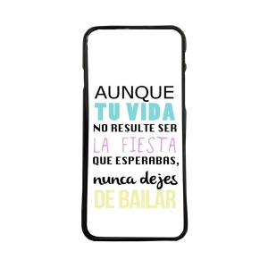 Carcasas de moviles fundas de movil compatible con iphone 8 plus frases bailar