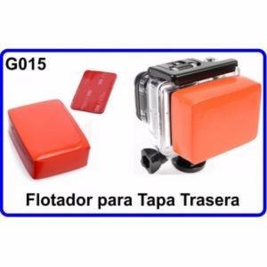 Flotador Tapa Trasera Accesorios Camara Deportiva Compatible Gopro Hero 2/3/3+/4