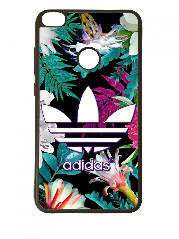 Funda carcasas móvil adidas flores compatible con el móvil Samsung Galaxy S9 Plus