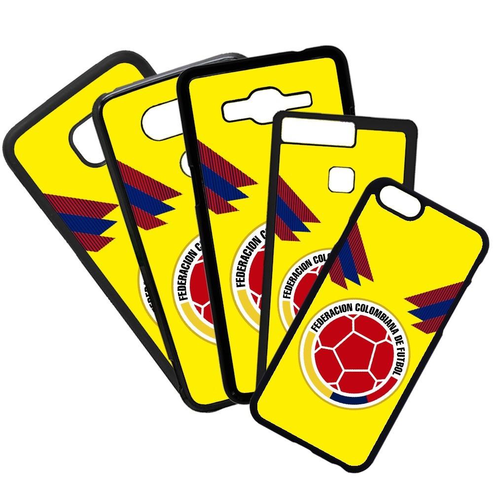 Carcasas de movil fundas de moviles de TPU compatible con Huawei P20 Lite selección de fútbol colombia escudos