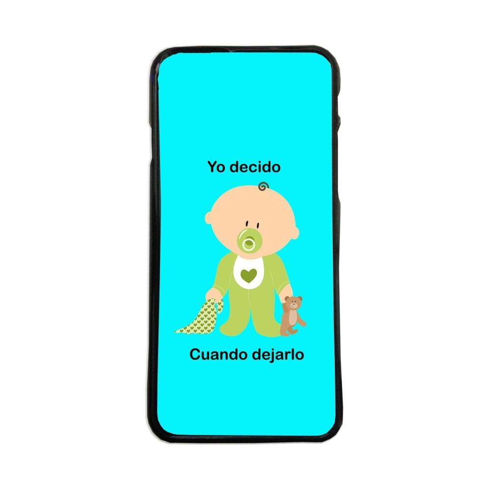3dfa305e3dd Carcasas de movil fundas de moviles de TPU compatible con Iphone 6 frases  graciosas bebe