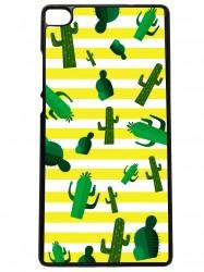 Funda carcasas móvil cactus compatible con el móvil huawei p8