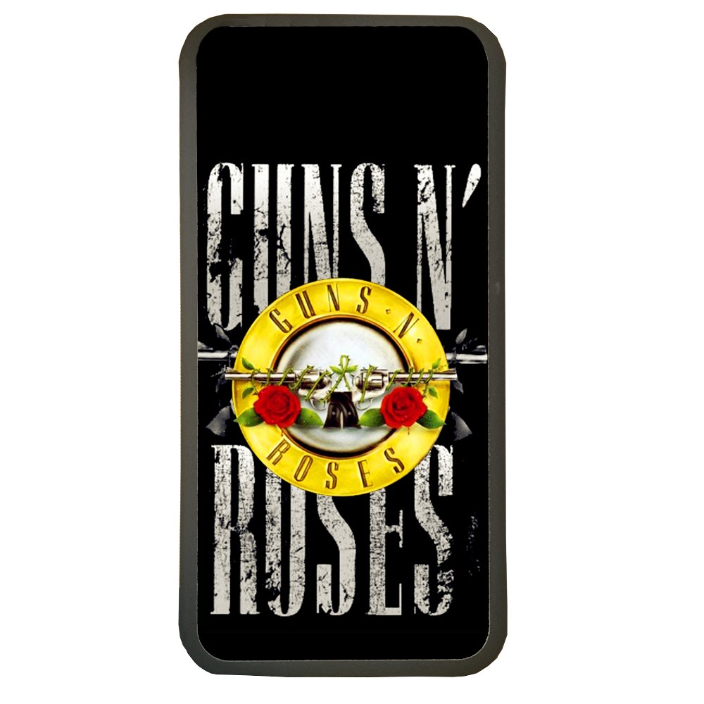 Carcasas de movil fundas de moviles de TPU compatible con Iphone 5 5s guns n roses musica grupo