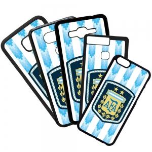 Carcasas de movil fundas de móviles de TPU compatible con Huawei P8 lite 2017 selección de argentina fútbol