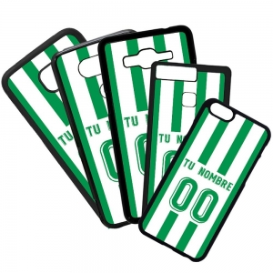 Fundas De Móviles Carcasas De Móvil De TPU Real Betis  Camiseta Personalizada Liga Santander Fútbol