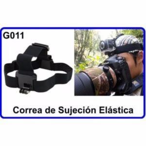 Correa de Sujeción Elástica Accesorios Camara Deportiva Compatible Gopro Hero