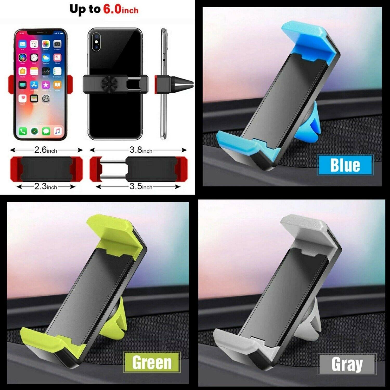 Soporte Para el Coche Movil Universal Pinza Salpicadero Car Moda Colores Gps Color Gris