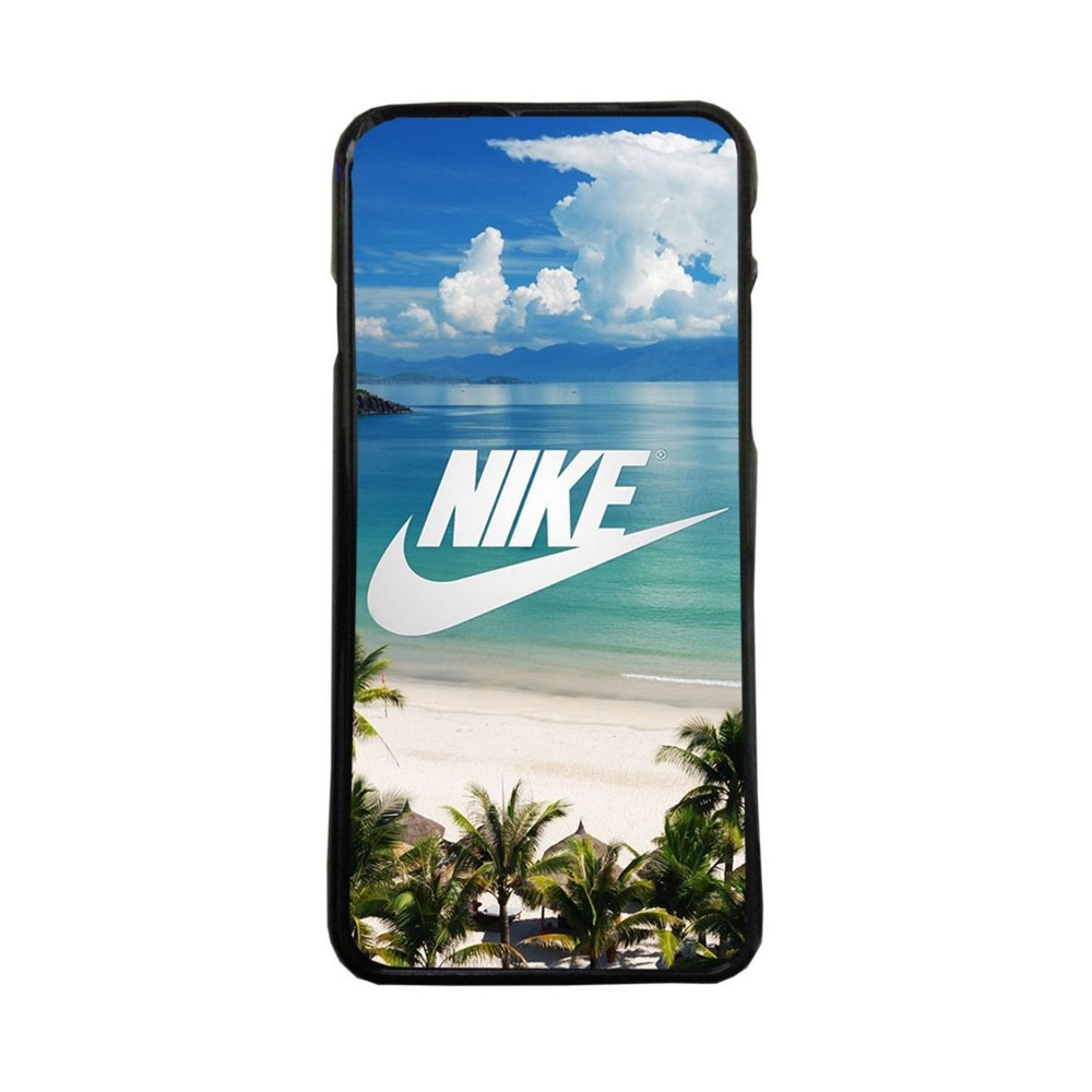 Carcasas de movil funda tpu compatible con Iphone XS Max nike playa logos