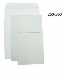 250 Sobres bolsas blancos 260x360 autoadhesivos folios envios