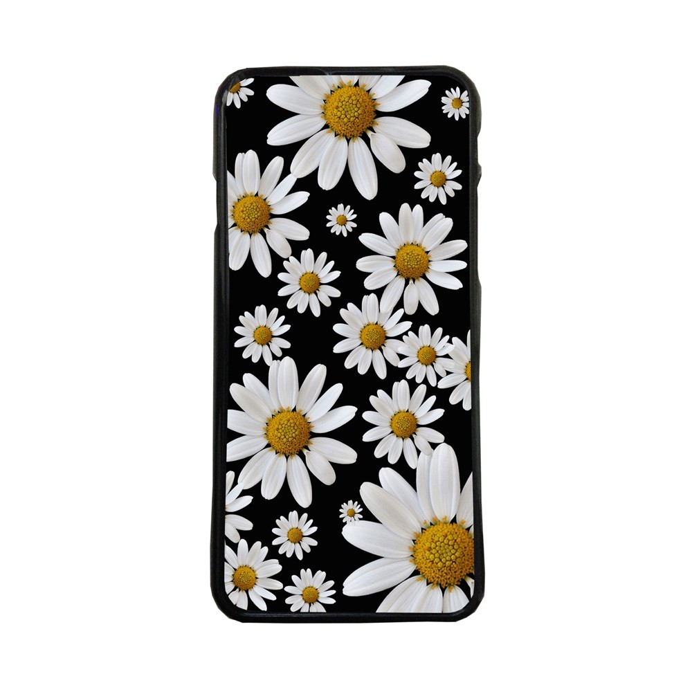 Carcasas de movil fundas de moviles de TPU compatible con Samsung Galaxy S6 margaritas flores