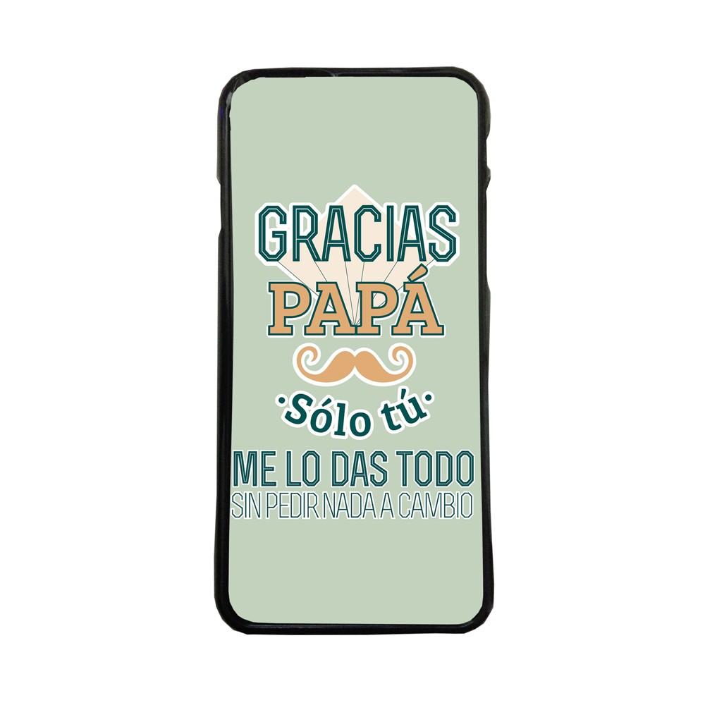 0624d80a9d0 Fundas De Móviles Carcasas De Móvil De TPU Gracias Papa Tu Me Das Todo