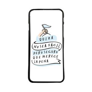 Fundas De Móviles Carcasas De Móvil De TPU  Quizá No Sea Fácil Pero Merece La Pena