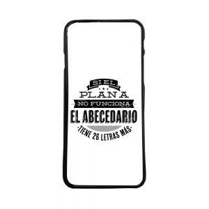 fundas movil carcasas tpu compatible con samsung galaxy s6 edge plus abecedario