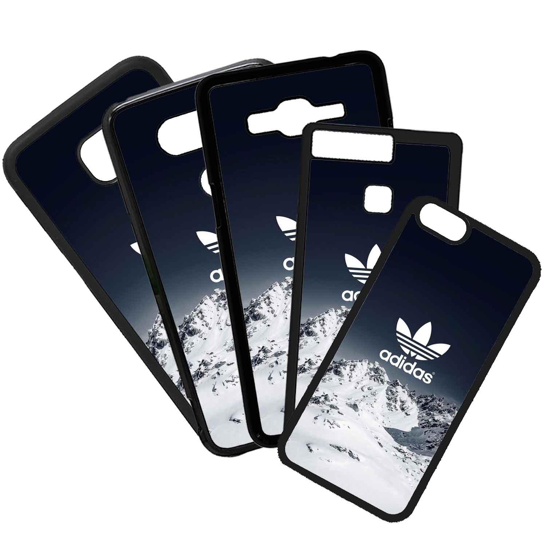 Funda de Movil Carcasa de Moviles Fundas Carcasas de TPU Compatible con el movil Samsung Galaxy A3 2016 Adidas Nieve Marcas Moda Deportes Símbolos