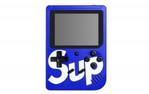 Mini Consola Maquina Retro Sup Game Box 400en1 Juegos Videojuegos Color Azul