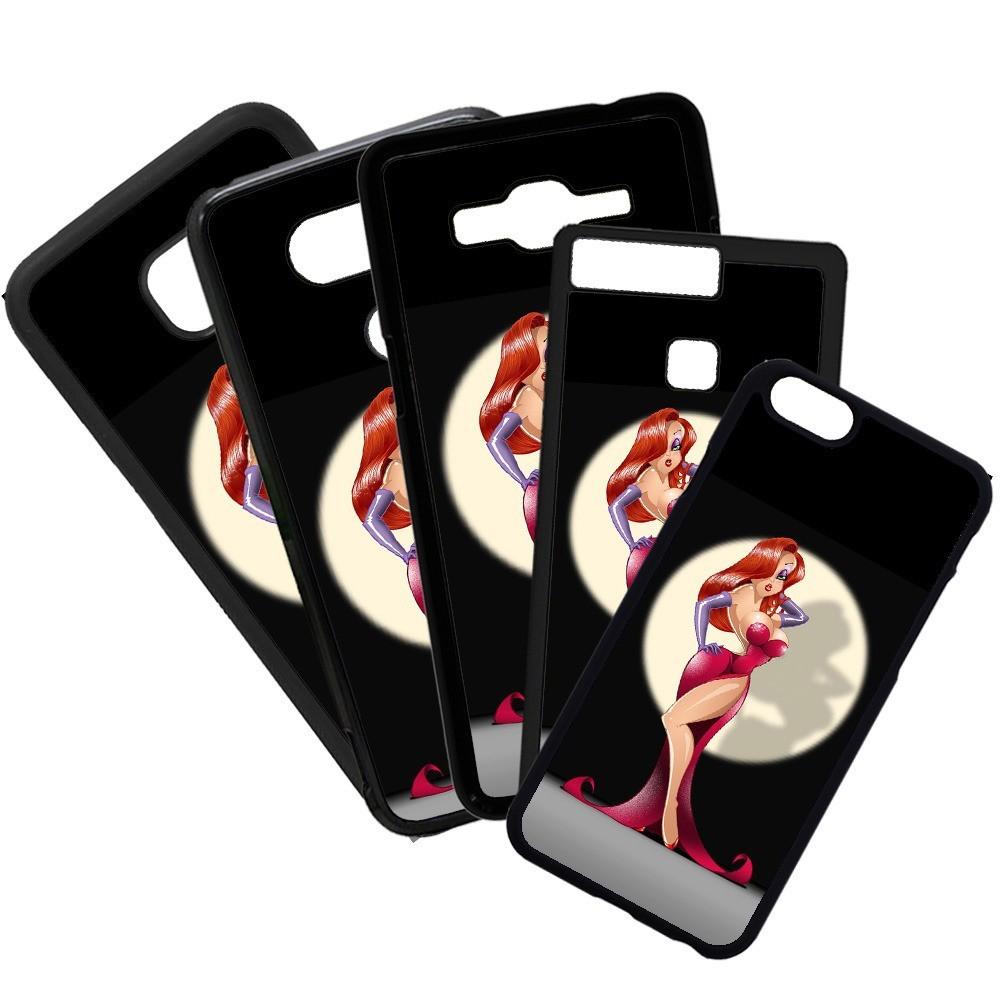 Carcasas de movil fundas de moviles de TPU compatible con Huawei P20 Lite dibujos caricaturas sexy sexo pelirroja