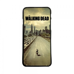 Carcasas de movil funda compatible con huawei p8 lite 2017 walking dead calle