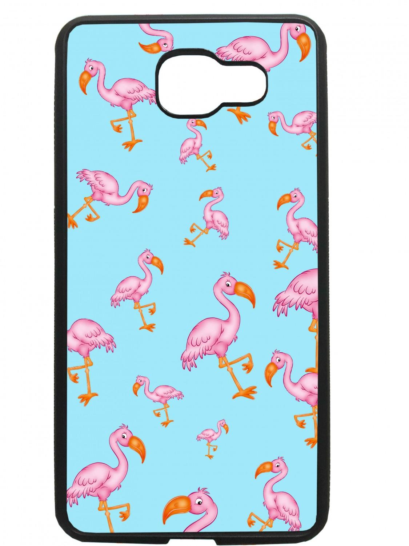 Funda carcasas móvil flamencos compatible con movil Samsung Galaxy A3 2016