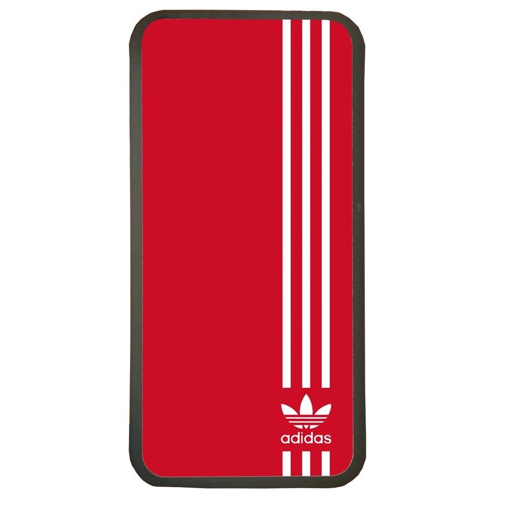Carcasas de movil fundas de moviles de TPU compatible con Samsung Galaxy S6 marca adidas color rojo deporte