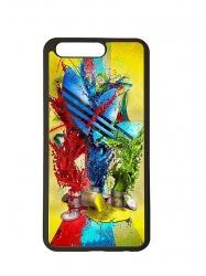 Funda carcasas móvil adidas pintura compatible con el móvil Huawei P10 Plus