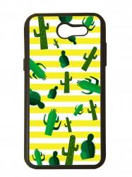 carcasa para móvil compatible con samsung galaxy j7 prime 2017 cactus dibujos