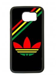 Funda carcasas móvil adidas africa compatible con móvil Samsung Galaxy S6 Edge