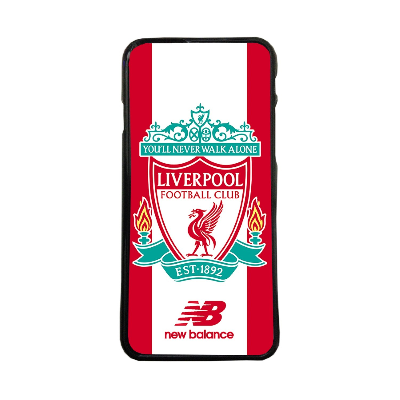Fundas De Móviles Carcasas De Móvil De TPU Liverpool Escudo Liga Inglesa Fútbol Nunca Caminaras Solo