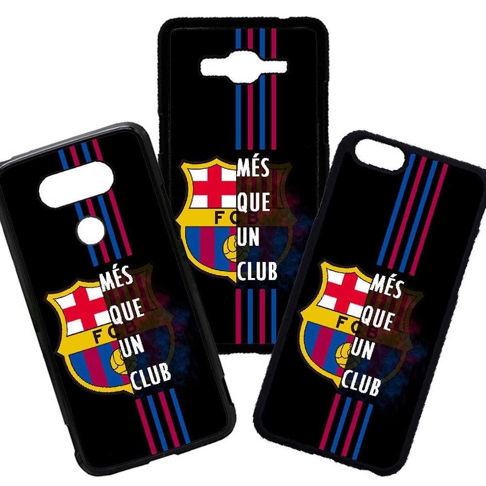 Fundas De Móviles Carcasas De Móvil De TPU  Barcelona Mes Que Un Club