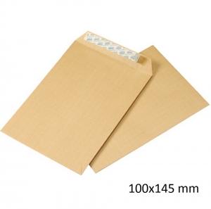 1000 Sobres bolsas kraft 100x145 12p autoadhesivos folios envios