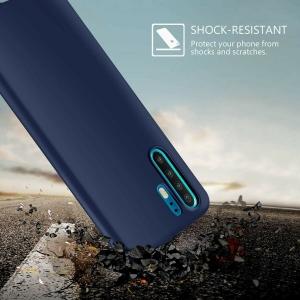 Funda Carcasa Case Huawei Silicona Flexible Ultra Fina Tpu Suave Compatible con Huawei  P9 Azul Oscuro
