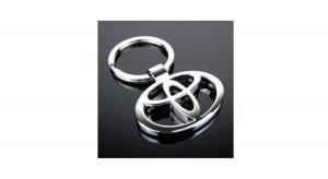 Llavero De Coche O De Moto Modelo Toyota Diseño Llaves Escudo Logo Marcas Moda