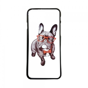 Carcasas de moviles fundas de móvil compatible con iphone 8 bulldog ingles