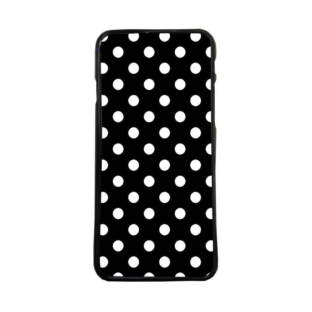 Carcasas de movil fundas de moviles de TPU compatible con Iphone 5 5s lunares blancos moda