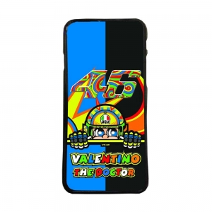 Funda de movil carcasas compatible con iphone 7 modelo valentino rossi 46 motos