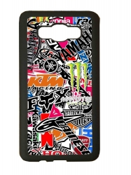 carcasas fundas movil tpu compatible con samsung galaxy j3 2016 stickers motos