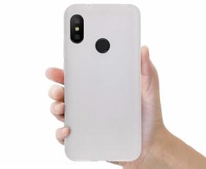 Funda Carcasa Case Xiaomi Silicona Flexible Ultra Fina Tpu Suave Compatible con Xiaomi Mi 9  Transparente