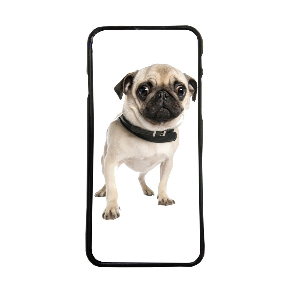 Funda de movil carcasas compatible con iphone 5 5s perro carlino