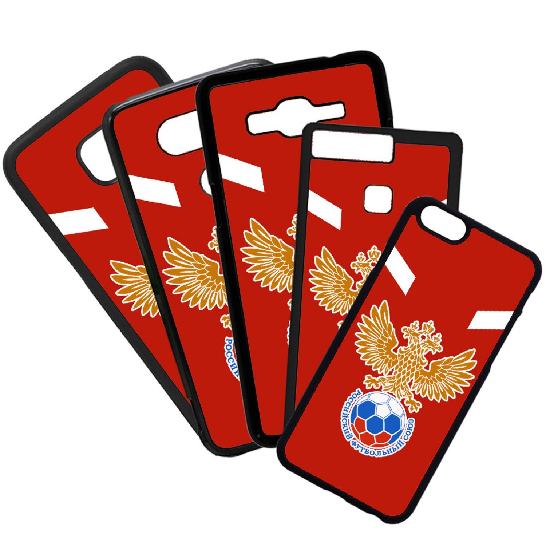 Fundas De Móviles Carcasas De Móvil De TPU Rusia Escudo Futbol Mundial
