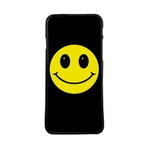 Fundas De Móviles Carcasas De Móvil De TPU Snoppy Smile Sonrisa Emoticono Fondo Negro